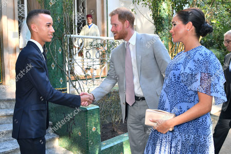 Editorial picture of Prince Harry and Meghan Duchess of Sussex visit to Morocco - 25 Feb 2019