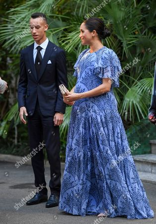 Meghan Duchess of Sussex, Prince Moulay Hassan