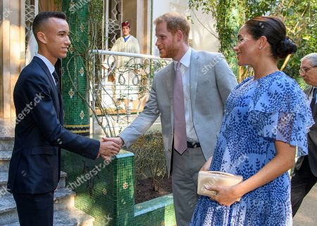 Meghan Duchess of Sussex, Prince Moulay Hassan, Prince Harry