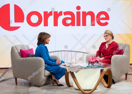 Editorial photo of 'Lorraine' TV show, London, UK - 25 Feb 2019