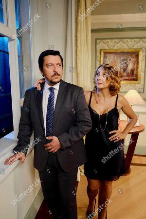 Ricky Memphis as Walter Bianchini and Paola Minaccioni Marisa Rispoli