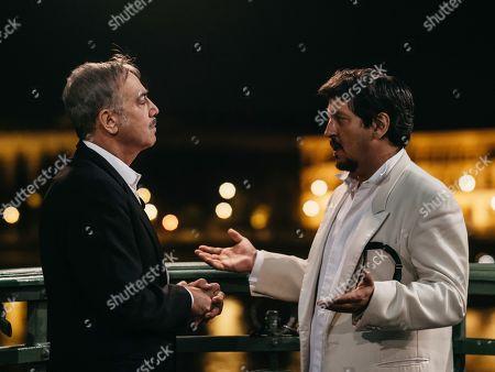Massimo Ghini as Prime Minister Franco Rispoli and Ricky Memphis as Walter Bianchini
