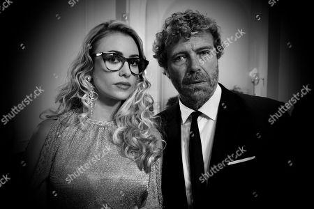 Martina Stella as Senator Giulia Rossi and Massimo Ciavarro as Roberto di Leo
