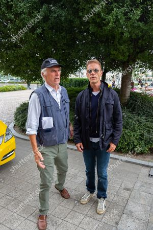Marco Risi Director and Rocco Siffredi