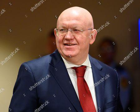 Vasily Nebenzya, Permanent Representative of the Russian Federation