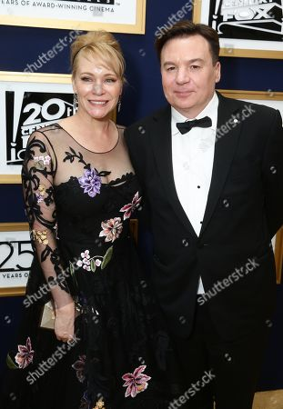 Stock Picture of Kelly Tisdale, Mike Myers
