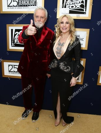 Stock Photo of Roger Taylor, Sarina Potgieter