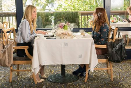 Anne Dudek as Whitney and Aya Cash as Gretchen
