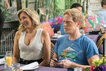 Lucy Montgomery as Katharine and Chris Geere as Jimmy