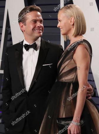 Lachlan Murdoch and Sarah Murdoch