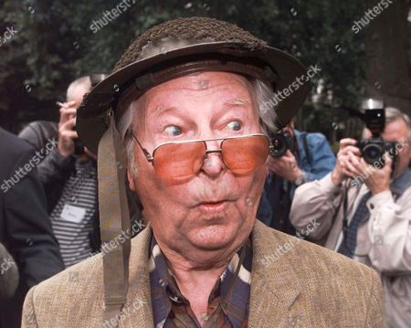 Celebrations For 30 Years Of Television Programme Dad's Army At The Imperial War Museum London Se11. Picture Shows Actor Clive Dunn Who Played Lance Corporal Jones. . Rexmailpix.