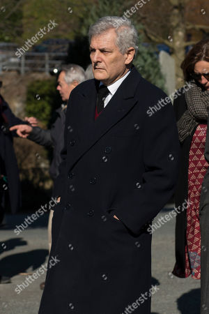 Editorial image of Marella Agnelli funeral, Turin, Italy - 25 Feb 2019