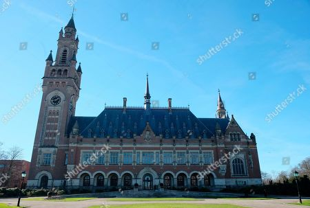 Editorial photo of World Court Chagos Islands, The Hague, Netherlands - 25 Feb 2019