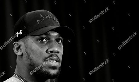 Anthony Joshua  - Anthony Joshua & Jarrell Miller Press Conference ahead of their fight at Madison Square Garden on 01/06/2019 Anthony Joshua & Jarrell Miller Press Conference ahead of their fight on 01/06/2019 at Madison Square Garden.
