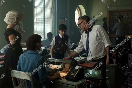 Kate Walsh as The Handler, Aidan Gallagher as Number Five and Stephen Surjik Director