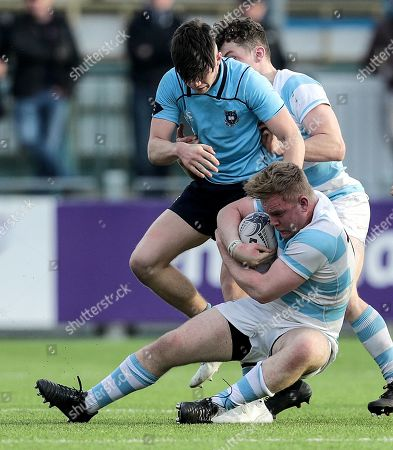 Editorial photo of Bank of Ireland Leinster Schools Senior Cup Quarter-Final, Energia Park, Donnybrook, Dublin  - 25 Feb 2019