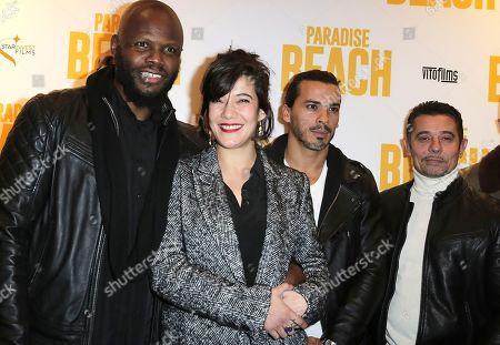 Stock Image of Hubert Koundé, Melanie Doutey and Kool Shen