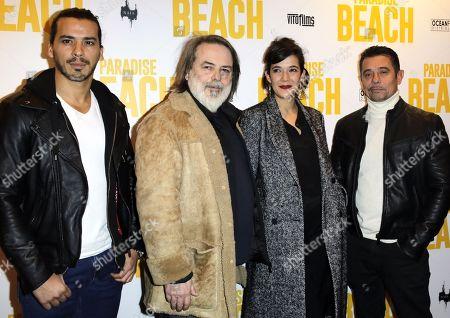 Tewfik Jallab, Xavier Durringer, Melanie Doutey and Kool Shen
