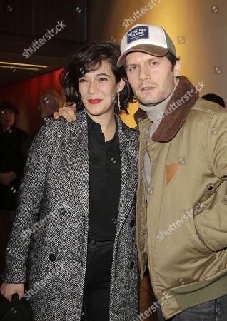 Melanie Doutey and Hugo Becker