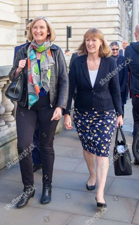 Sarah Wollaston and Joan Ryan  First official meeting of The Independent Group at The institute of civil Engineers at Great George Street.  8 Labour MPs and three Conservative MPs have formed a new group. They follow a more Centrist form of Politics.