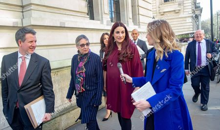 Chris Leslie, Luciana Berger and Ann Coffey  First official meeting of The Independent Group at The institute of civil Engineers at Great George Street.  8 Labour MPs and three Conservative MPs have formed a new group. They follow a more Centrist form of Politics.