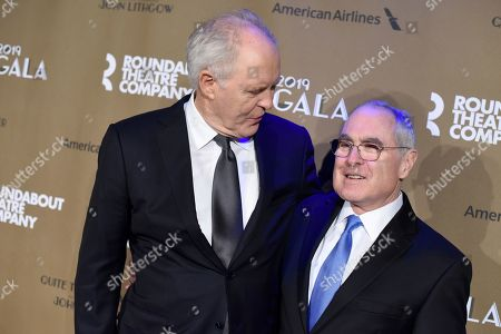 Stock Photo of John Lithgow and Todd Haimes