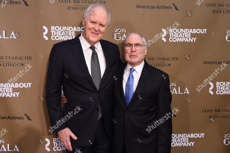 Editorial picture of Roundabout Theater Company's 2019 Gala, 'Quite the Character: An Evening Celebrating John Lithgow', Arrivals, New York, USA - 25 Feb 2019