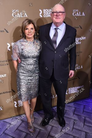 Editorial image of Roundabout Theater Company's 2019 Gala, 'Quite the Character: An Evening Celebrating John Lithgow', Arrivals, New York, USA - 25 Feb 2019