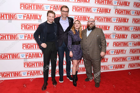 Editorial image of 'Fighting With My Family' film premiere, Arrivals, London, UK - 25 Feb 2019