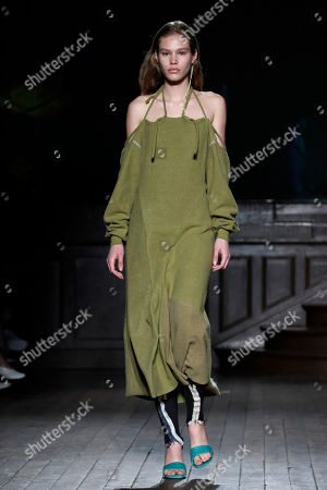 Ottolinger Show Runway Paris Fashion Week Stock Photos Exclusive