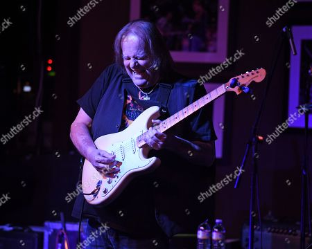 Editorial photo of Johnny Griparic in concert at The Funky Biscuit, Boca Raton, USA - 24 Feb 2019