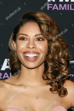 "Ciera Payton attends a special screening of Tyler Perry's ""A Madea Family Funeral"" at the SVA Theatre, in New York"