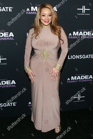 """Patrice Lovely attends a special screening of Tyler Perry's """"A Madea Family Funeral"""" at the SVA Theatre, in New York"""