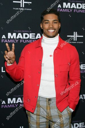 """Rome Flynn attends a special screening of Tyler Perry's """"A Madea Family Funeral"""" at the SVA Theatre, in New York"""