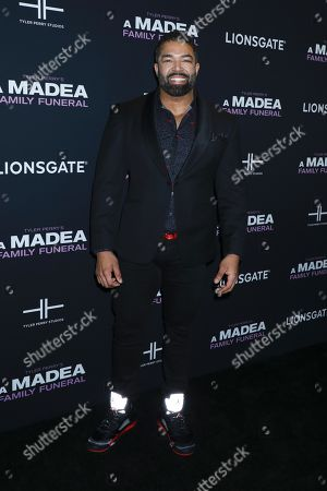 Editorial image of 'A Madea Family Funeral' film screening, Arrivals, New York, USA - 25 Feb 2019