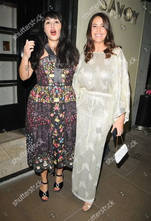 Stock Picture of Melissa Hemsley and Lisa Snowdon