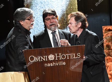 Randy Owen, Teddy Gentry and Jeff Cook of Alabama