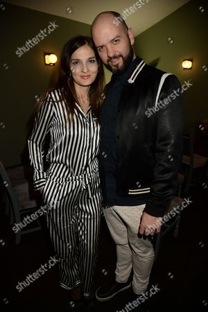 Stock Photo of Yasmin Mills and Justin Horne