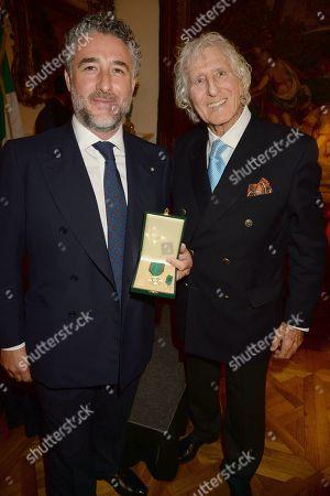 Luca Del Bono and father Marco Del Bono