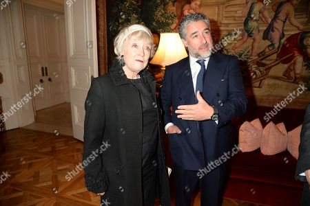 Stock Photo of Guest and Luca Del Bono