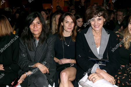 Emmanuelle Alt, Ana Girardot, Ines de la Fressange and daughter Violette d'Urso