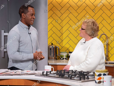 Andi Peters and competition winner