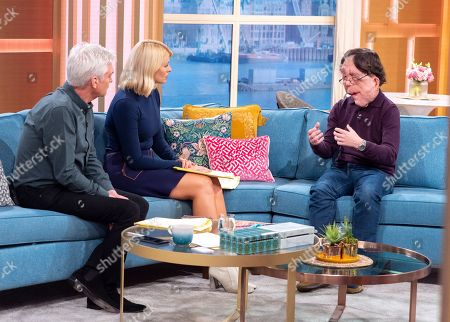 Phillip Schofield, Holly Willoughby, Adam Pearson