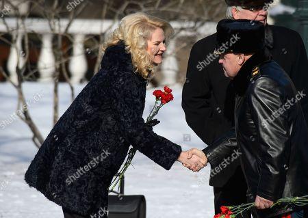 Deputy Prime Minister Tatyana Golikova before the ceremony