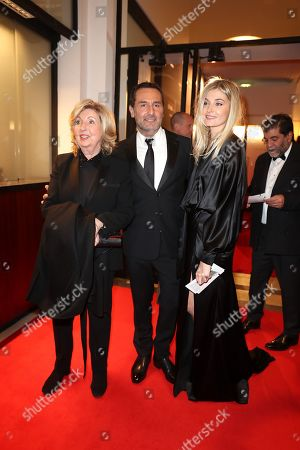 Gilles Lellouche and mother, Alizee Guinochet