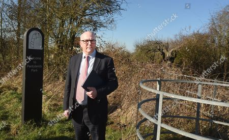 Editorial image of Linda Razzell search, Pentylands Park, Swindon, Wiltshire, UK - 25 Feb 2019
