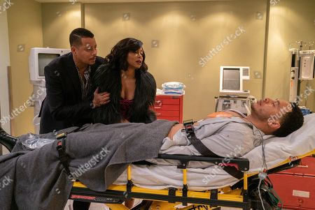 Terrence Howard as Lucious Lyon, Taraji P. Henson as Cookie Lyon and Trai Byers as Andre Lyon