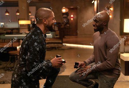 Jussie Smollett as Jamal Lyon and Toby Onwumere as Kai
