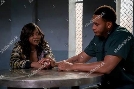 Stock Photo of Taraji P. Henson as Cookie Lyon and Trai Byers as Andre Lyon
