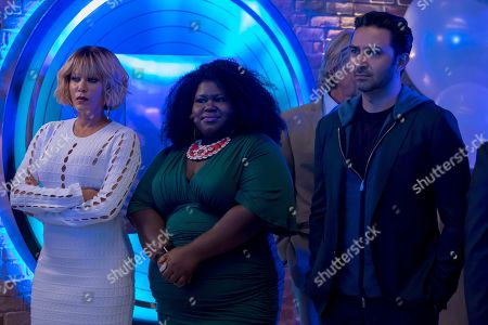 Nicole Ari Parker as Giselle, Gabourey Sidibe as Becky and Pej Vahdat as Kelly Patel